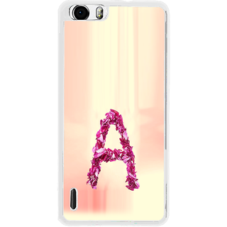 ifasho alphabet name series A Back Case Cover for Huawei Honor 6