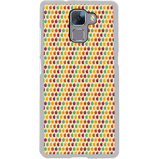 ifasho Animated Pattern design many small apple Back Case Cover for Honor 7