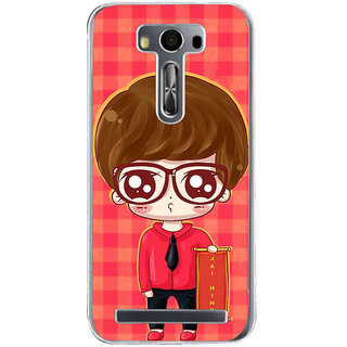ifasho Crazy Boy Back Case Cover for Asus Zenfone Selfie
