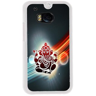 ifasho Modern Art Ganesh Back Case Cover for HTC One M8