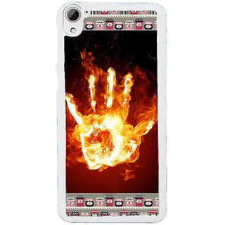 ifasho Modern Art Design  dont touch my phone with palm Back Case Cover for HTC Desire 826