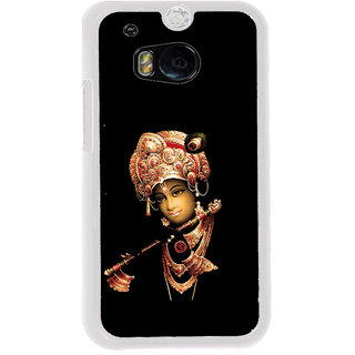 ifasho Lord Krishna with Flute Back Case Cover for HTC One M8