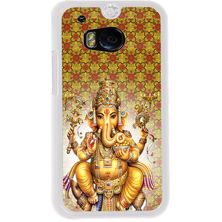 ifasho Lord Ganesha Back Case Cover for HTC One M8