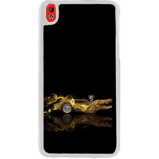 ifasho crocodile animated car Back Case Cover for HTC Desire 816