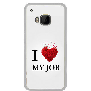 ifasho Love Quotes I love my job Back Case Cover for HTC One M9