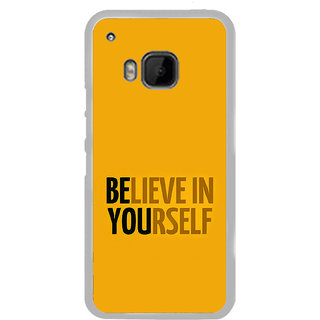 ifasho Believe in yourself Back Case Cover for HTC One M9