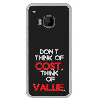 ifasho life Quotes Back Case Cover for HTC One M9