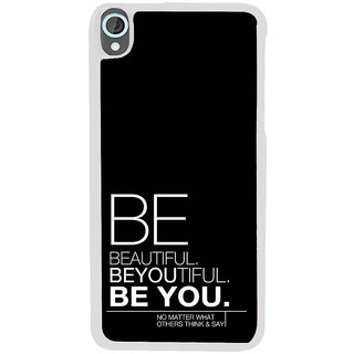ifasho beautiful qoutes Back Case Cover for HTC Desire 820