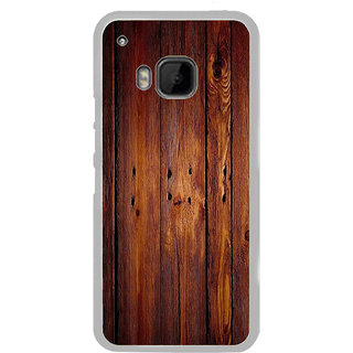 ifasho Animated Royal Pattern with Wooden back ground Back Case Cover for HTC One M9