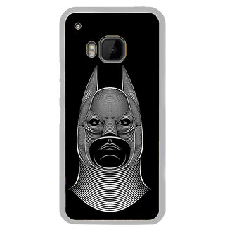 ifasho Animated man face cartoon with horn Back Case Cover for HTC One M9
