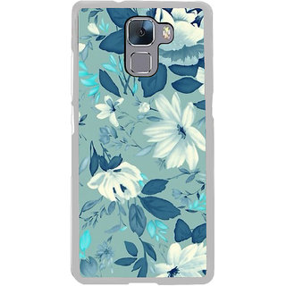 ifasho Modern Art Design animated cloth Pattern of flower Back Case Cover for Honor 7