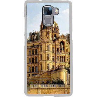ifasho Historic Place Back Case Cover for Honor 7