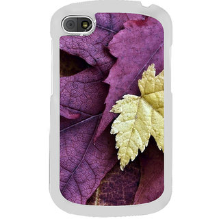 ifasho Fallen Leaf Back Case Cover for BLACKBERRY Q10
