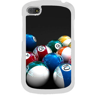 ifasho Design colourful biliards ball pattern Back Case Cover for BLACKBERRY Q10