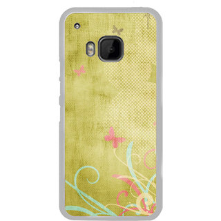 ifasho Animated Pattern colrful traditional design cloth pattern Back Case Cover for HTC One M9