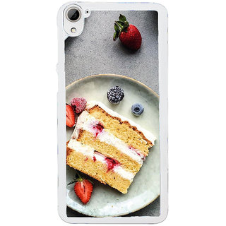 ifasho Animated food pattern Back Case Cover for HTC Desire 826