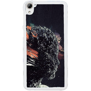 ifasho Girl animation face Back Case Cover for HTC Desire 826