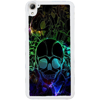 ifasho Modern  Design animated skeleton Back Case Cover for HTC Desire 826