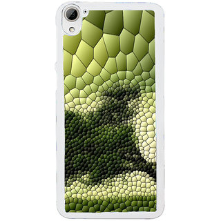 ifasho Modern  Design animated crocodile skin Back Case Cover for HTC Desire 826
