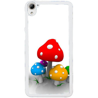 ifasho Mushrooms cartoon Back Case Cover for HTC Desire 826