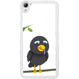 ifasho Bird eating cartoon Back Case Cover for HTC Desire 826