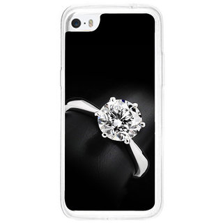 ifasho Engagement Ring Back Case Cover for Apple Iphone 5C
