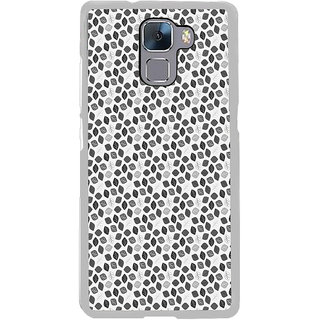 ifasho Animated Pattern colrful design flower with leaves Back Case Cover for Honor 7