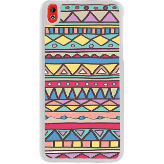 ifasho Animated Pattern colrful tribal design Back Case Cover for HTC Desire 816