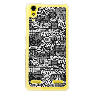 ifasho Motivatinal Quote Back Case Cover for LENOVO A6000