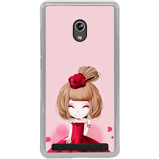 ifasho Princess Girl Back Case Cover for Asus Zenfone 5