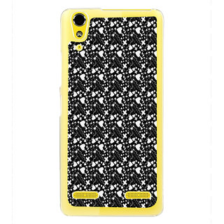 ifasho Modern Art Design Pattern with Lot Of small heart with + sign Back Case Cover for LENOVO A6000