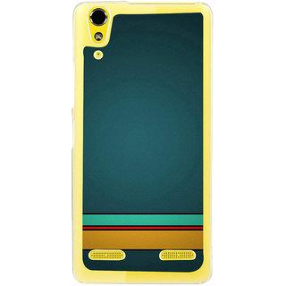 ifasho Modern Art Back Case Cover for LENOVO A6000