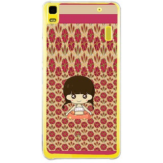 ifasho Cute Girl animated Back Case Cover for LENOVO A7000