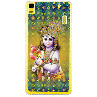 ifasho Lord Krishna in bal avtar Back Case Cover for LENOVO A7000