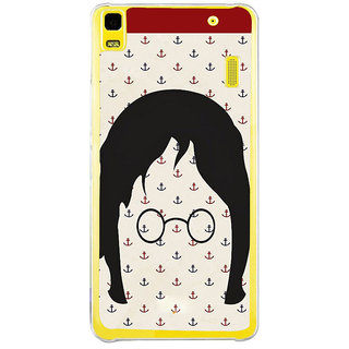 ifasho Modern Art Design Pattern with Lot Of small anchor Back Case Cover for LENOVO A7000