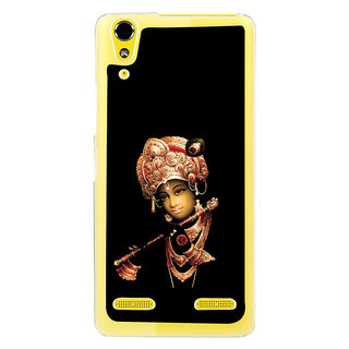 ifasho Lord Krishna with Flute Back Case Cover for LENOVO A6000 PLUS