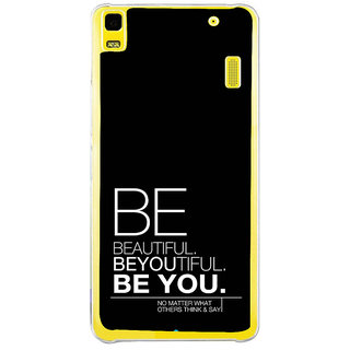 ifasho beautiful qoutes Back Case Cover for LENOVO A7000