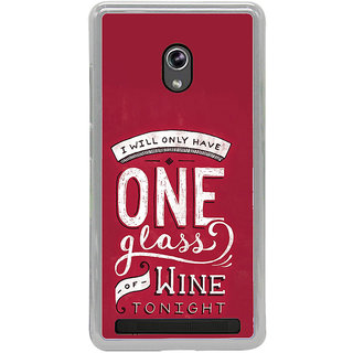 ifasho drink quotes Back Case Cover for Asus Zenfone 5