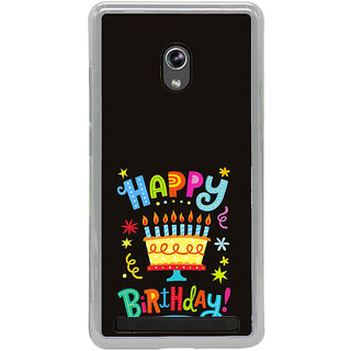 ifasho Wishing Happy birtday For Occassion Back Case Cover for Asus Zenfone 5