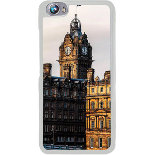 ifasho Historic Place of kolkata Back Case Cover for Micromax Canvas Fire4 A107