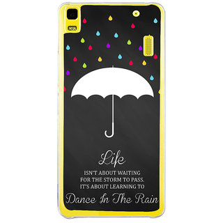 ifasho Good Quote on Rain Back Case Cover for Lenovo K3 Note