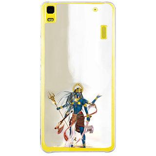 ifasho goddess  maa Kali Ugra tara Back Case Cover for Lenovo K3 Note