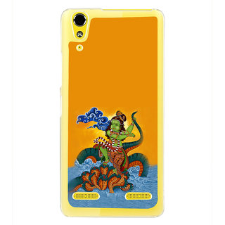 ifasho krishna Dancing on kalia serpant Back Case Cover for LENOVO A6000