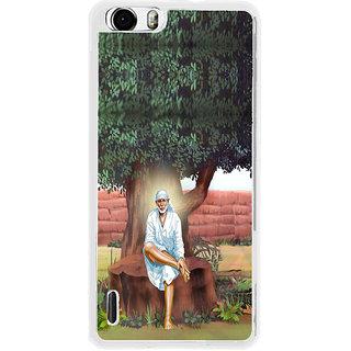 ifasho Shirdi wale Sai Baba Back Case Cover for Huawei Honor 6