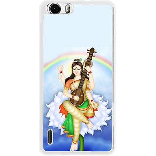 ifasho Goddess Saraswati  Back Case Cover for Huawei Honor 6