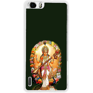 ifasho Goddess Saraswati  Back Case Cover for Huawei Honor 6