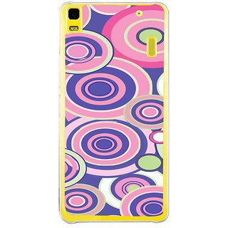 ifasho Animation Clourful Circle Pattern Back Case Cover for Lenovo K3 Note