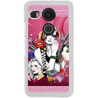 ifasho fashion Girls Back Case Cover for LG Google Nexus 5X