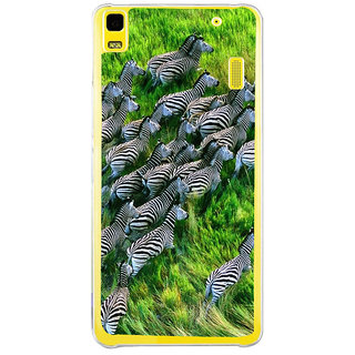 ifasho Zebra with Stripes Back Case Cover for LENOVO A7000