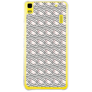 ifasho Design lines pattern Back Case Cover for LENOVO A7000